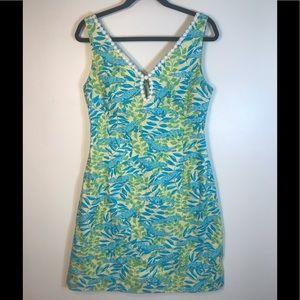 Lilly Pulitzer Mimosa Everglades alligator dress